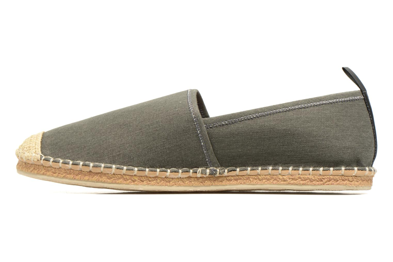 Espadrilles Polo Ralph Lauren Barron Grey front view