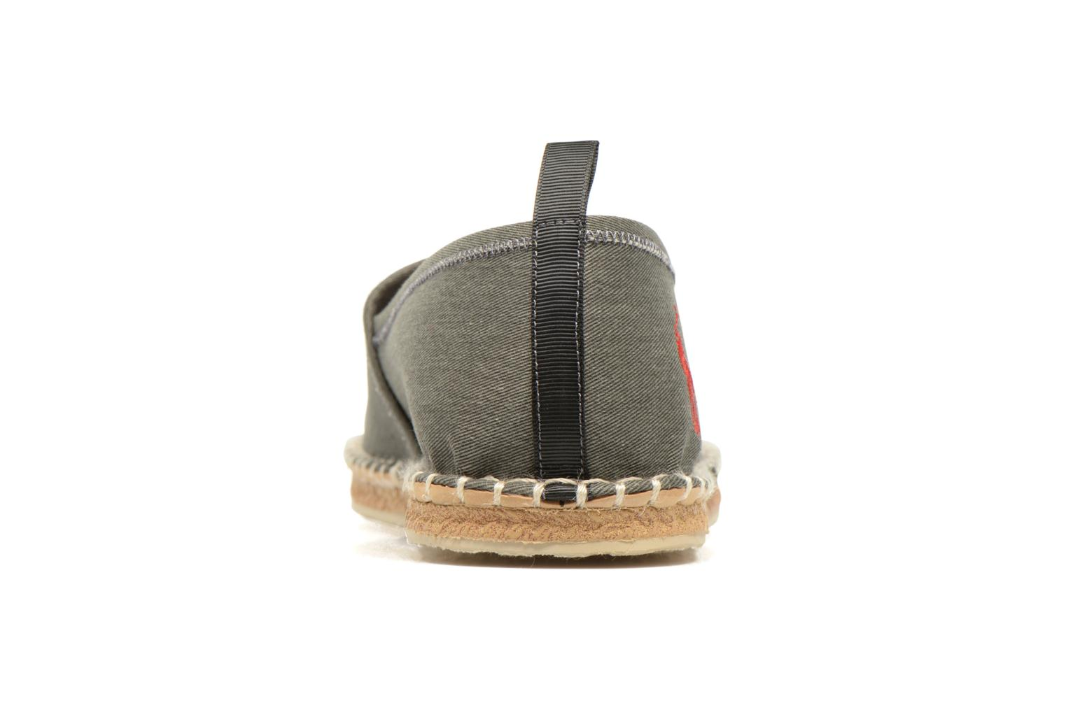 Espadrilles Polo Ralph Lauren Barron Grey view from the right