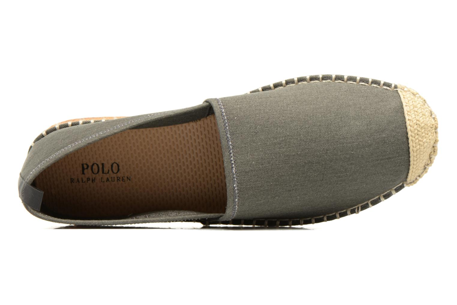 Espadrilles Polo Ralph Lauren Barron Grey view from the left