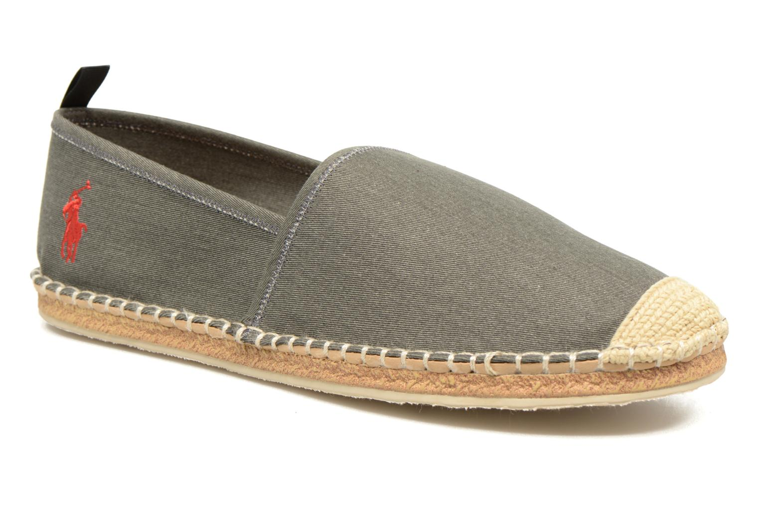 Espadrilles Polo Ralph Lauren Barron Grey detailed view/ Pair view