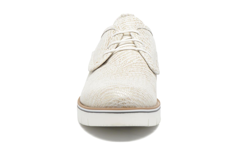 Lace-up shoes Sweet Lemon L.27.Nikoli White model view