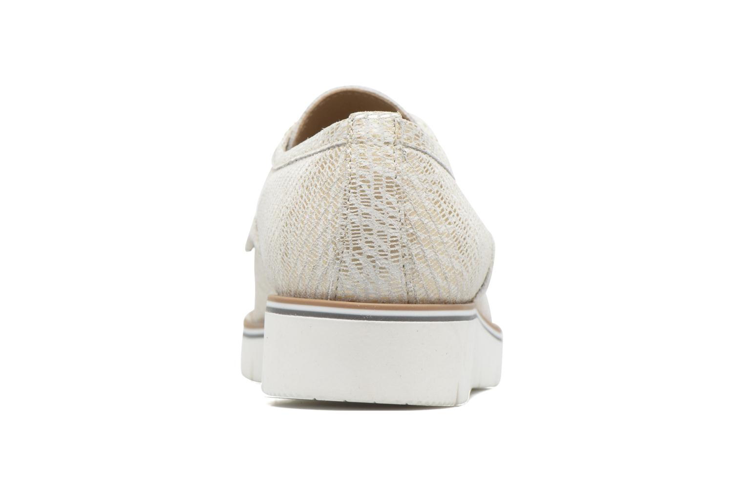 Lace-up shoes Sweet Lemon L.27.Nikoli White view from the right