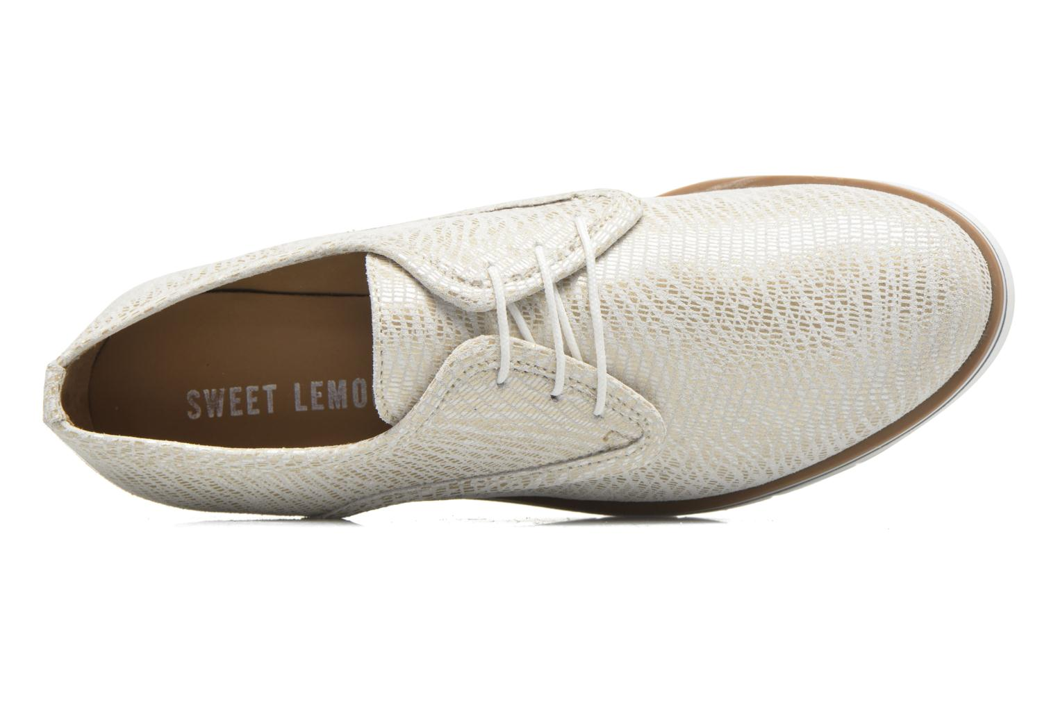 Lace-up shoes Sweet Lemon L.27.Nikoli White view from the left
