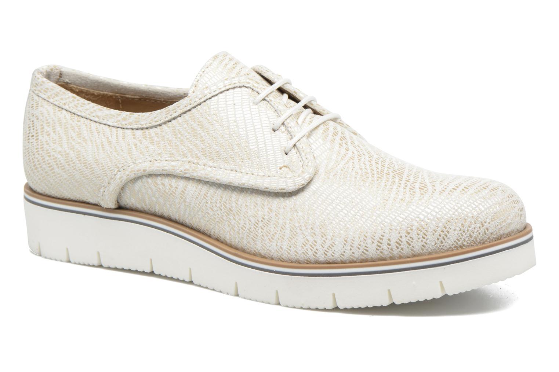 Lace-up shoes Sweet Lemon L.27.Nikoli White detailed view/ Pair view