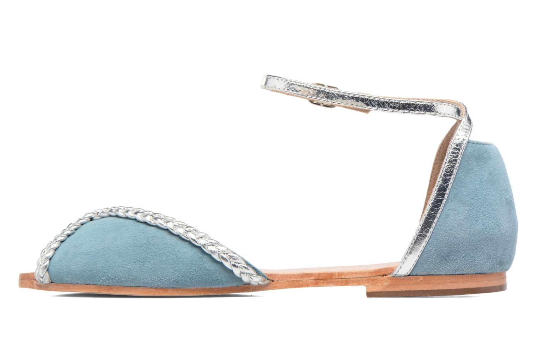 Sandalen Petite mendigote Trefle Blauw voorkant