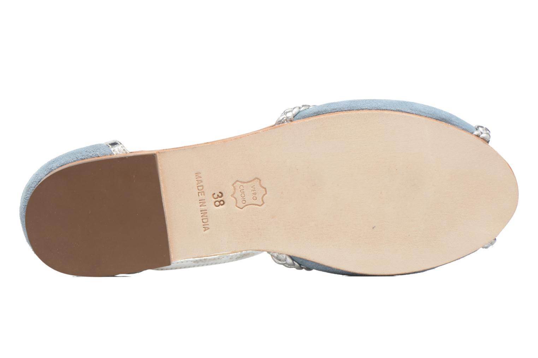 Sandalen Petite mendigote Trefle Blauw boven