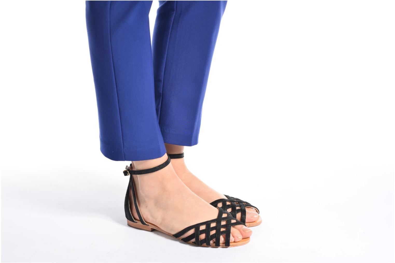 Sandali e scarpe aperte Petite mendigote Chicoree Azzurro immagine dal basso