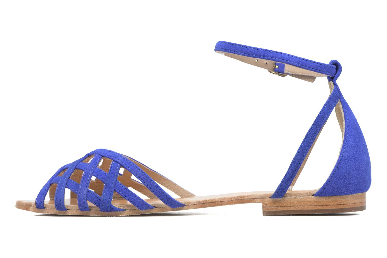 Sandali e scarpe aperte Petite mendigote Chicoree Azzurro immagine frontale
