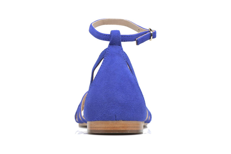 Sandali e scarpe aperte Petite mendigote Chicoree Azzurro immagine destra
