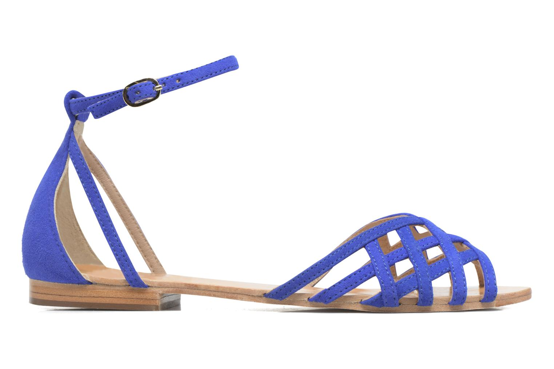 Sandali e scarpe aperte Petite mendigote Chicoree Azzurro immagine posteriore