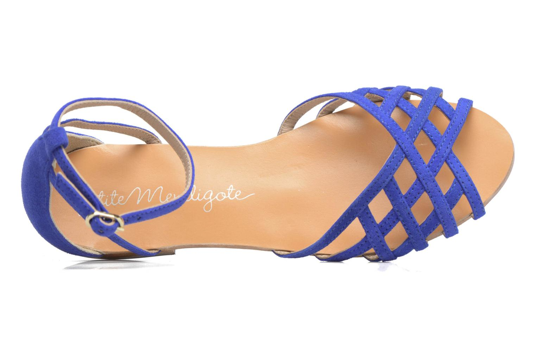 Sandali e scarpe aperte Petite mendigote Chicoree Azzurro immagine sinistra