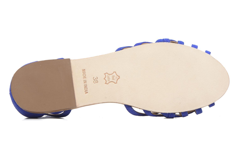 Sandali e scarpe aperte Petite mendigote Chicoree Azzurro immagine dall'alto