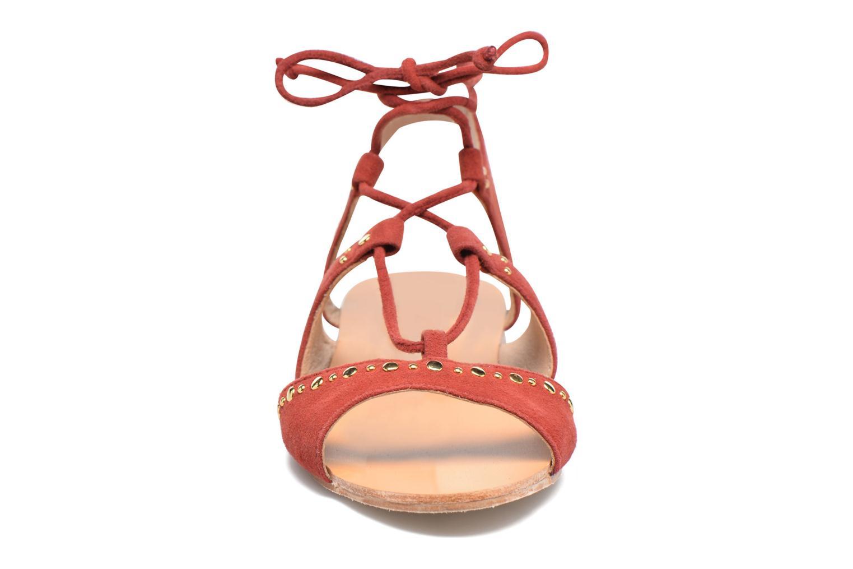 Sandalen Petite mendigote Osier Rood model