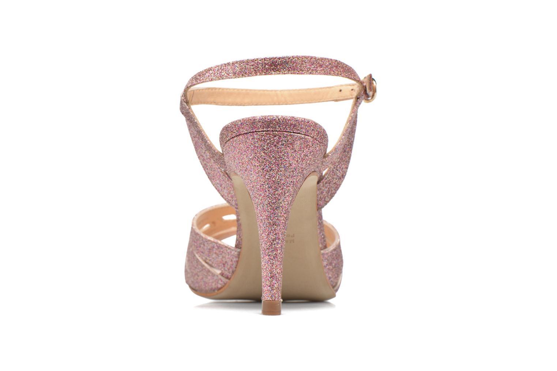 Sandales et nu-pieds Petite mendigote Hibiscus Rose vue droite