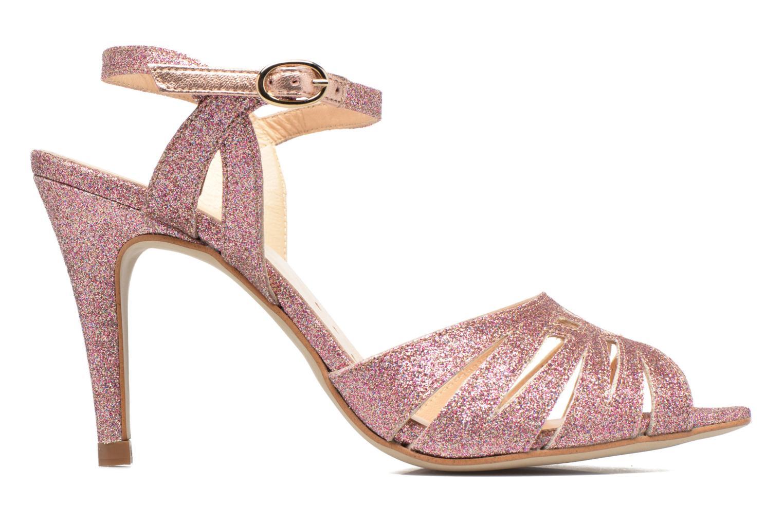 Sandals Petite mendigote Hibiscus Pink back view