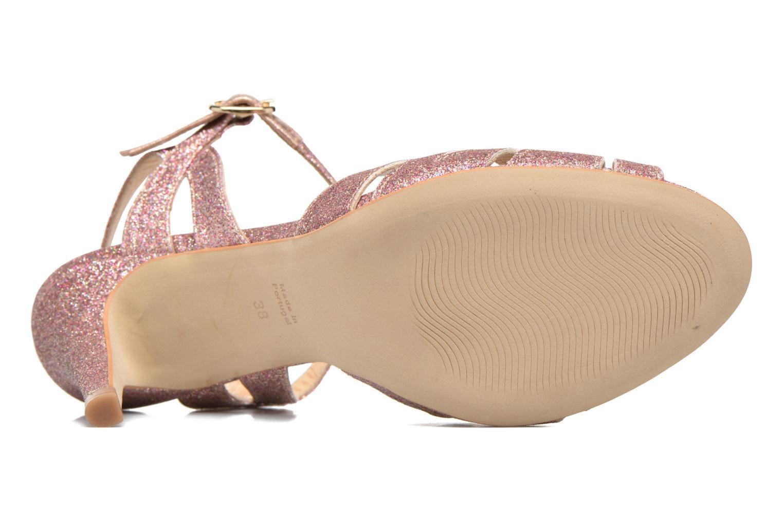 Sandali e scarpe aperte Petite mendigote Hibiscus Rosa immagine dall'alto