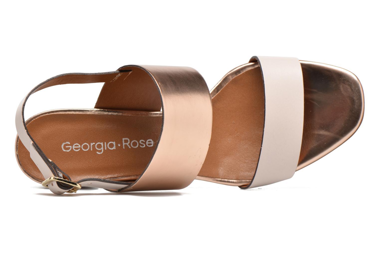 Sandales et nu-pieds Georgia Rose Batine Rose vue gauche