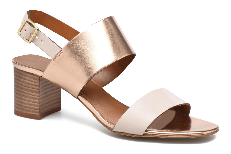 Sandales et nu-pieds Georgia Rose Batine Rose vue détail/paire
