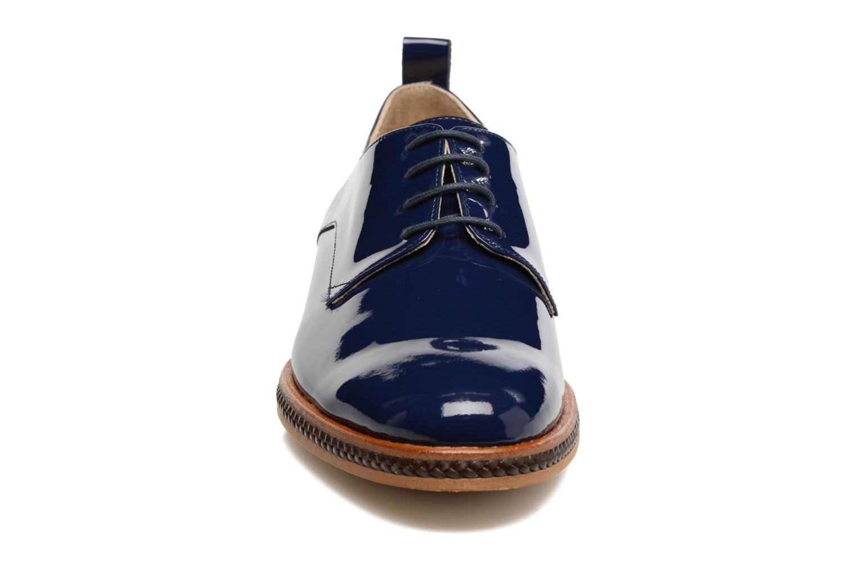 Scarpe con lacci MAURICE manufacture Jane Azzurro modello indossato