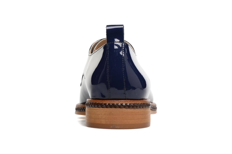 Scarpe con lacci MAURICE manufacture Jane Azzurro immagine destra