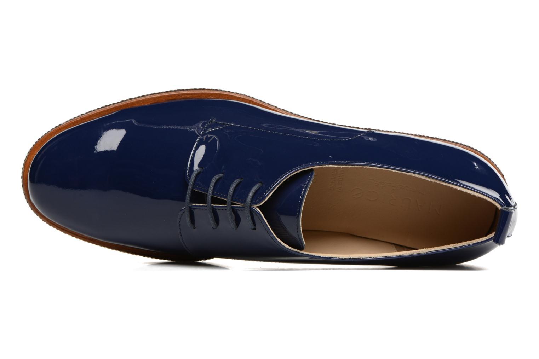 Scarpe con lacci MAURICE manufacture Jane Azzurro immagine sinistra