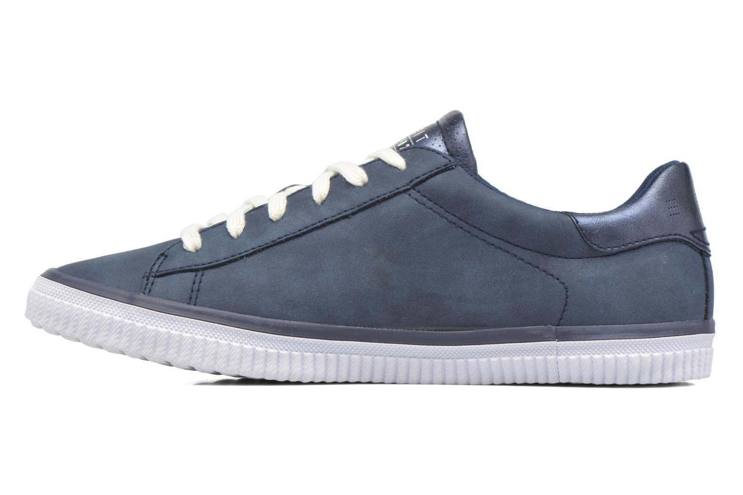 Sneakers Esprit Riata Lace Up Blauw voorkant