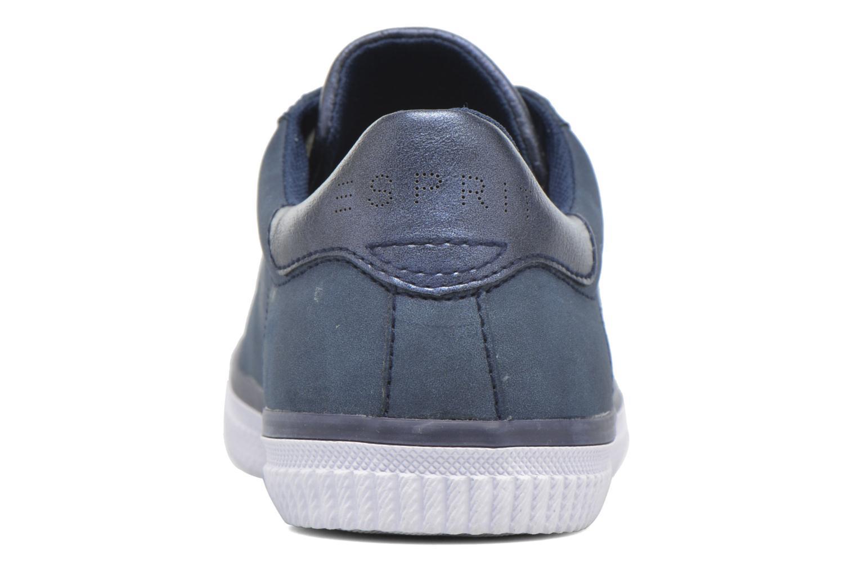Sneaker Esprit Riata Lace Up blau ansicht von rechts