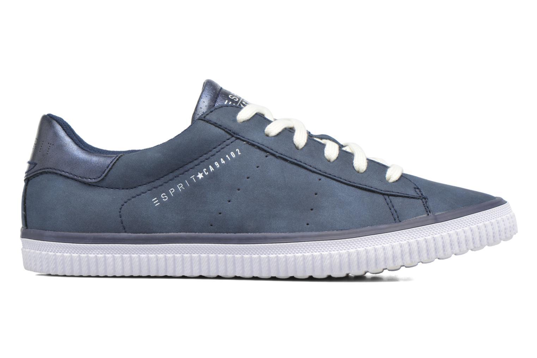 Sneaker Esprit Riata Lace Up blau ansicht von hinten