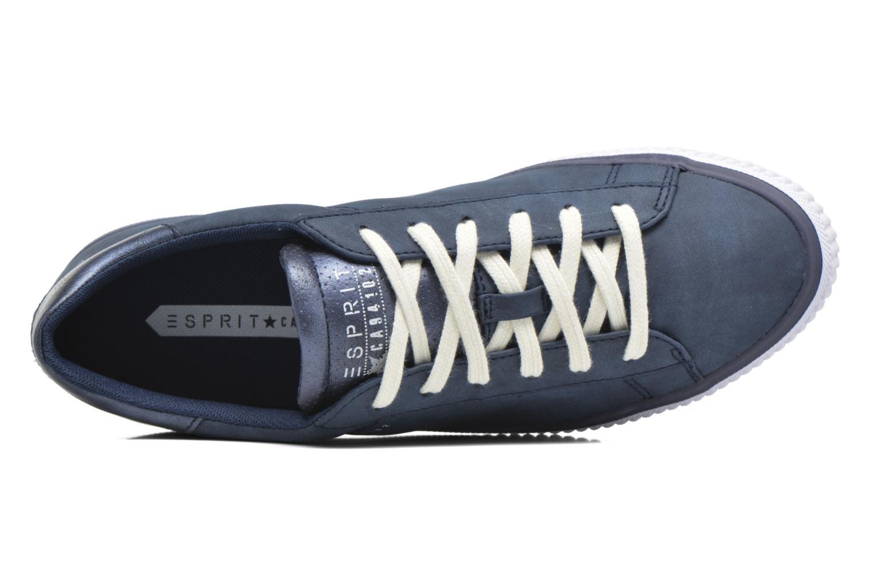 Sneaker Esprit Riata Lace Up blau ansicht von links