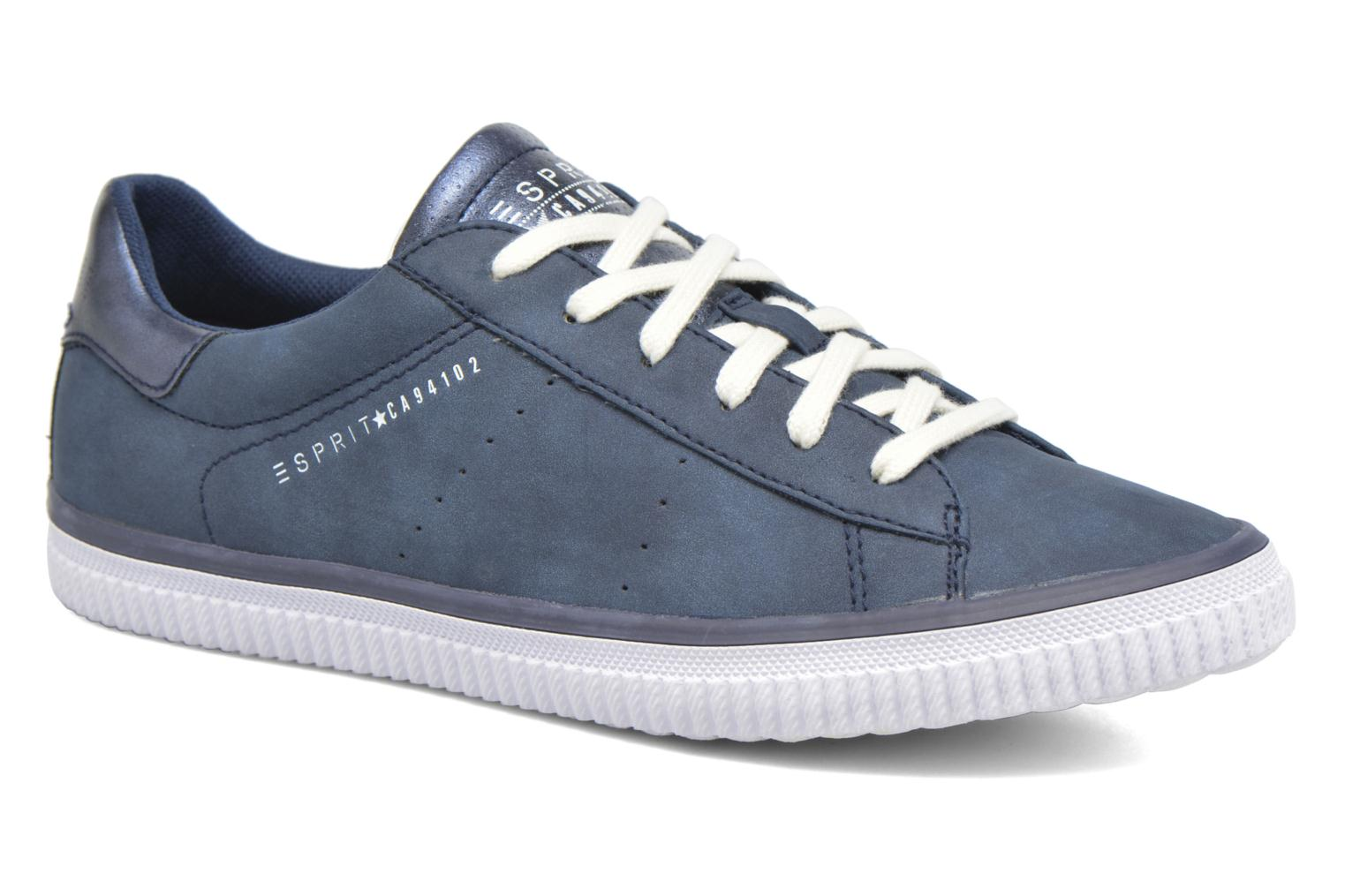 Sneakers Esprit Riata Lace Up Blauw detail