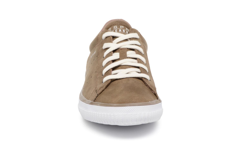Baskets Esprit Riata Lace Up Marron vue portées chaussures