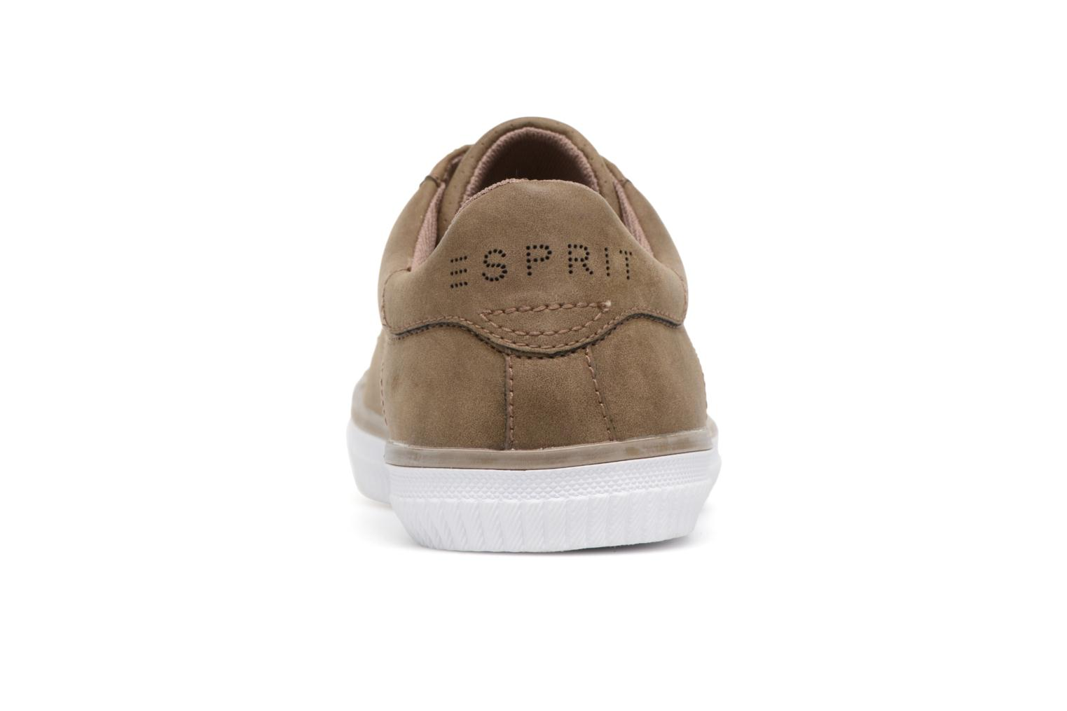 Deportivas Esprit Riata Lace Up Marrón vista lateral derecha