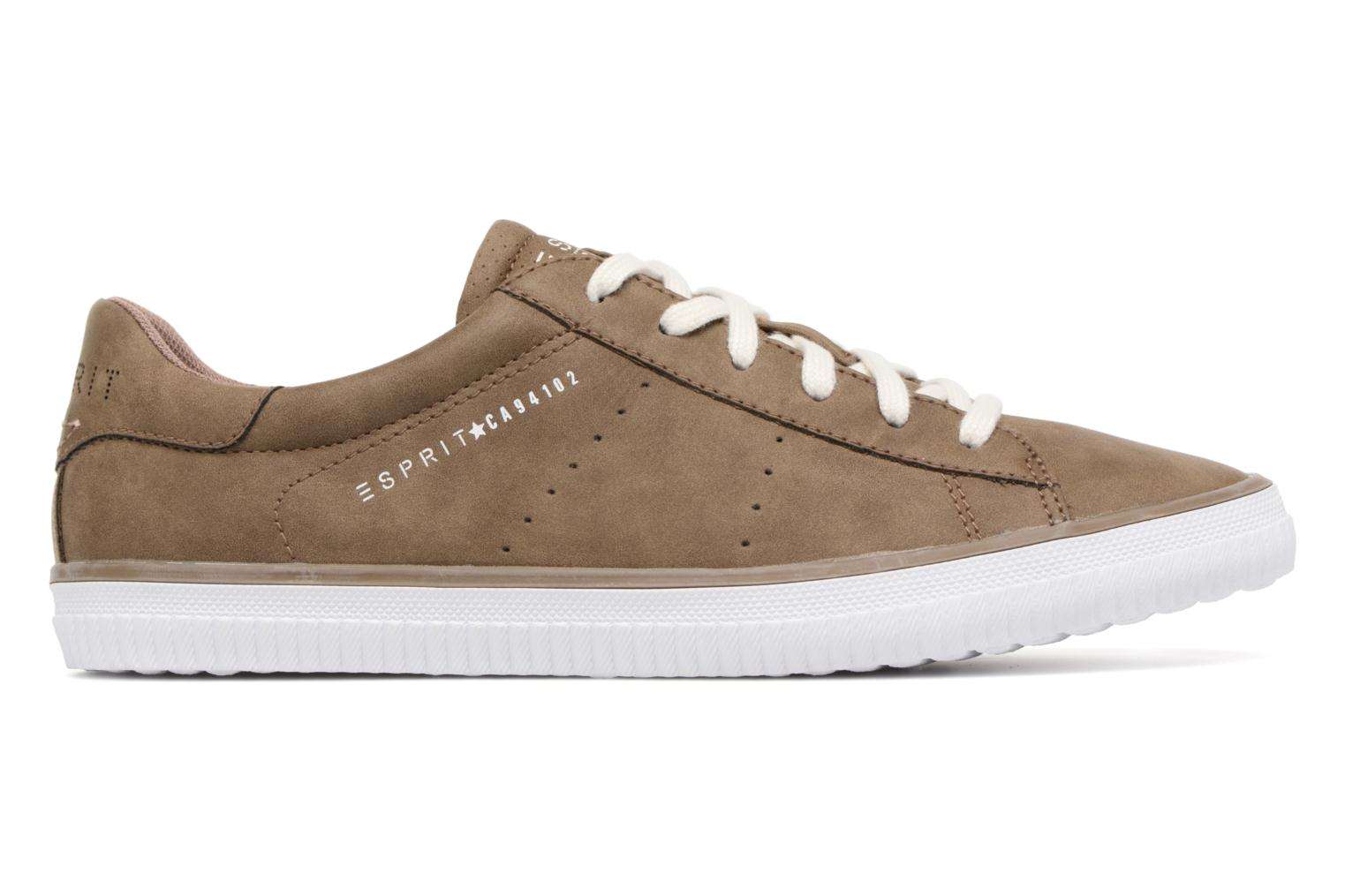 Trainers Esprit Riata Lace Up Brown back view