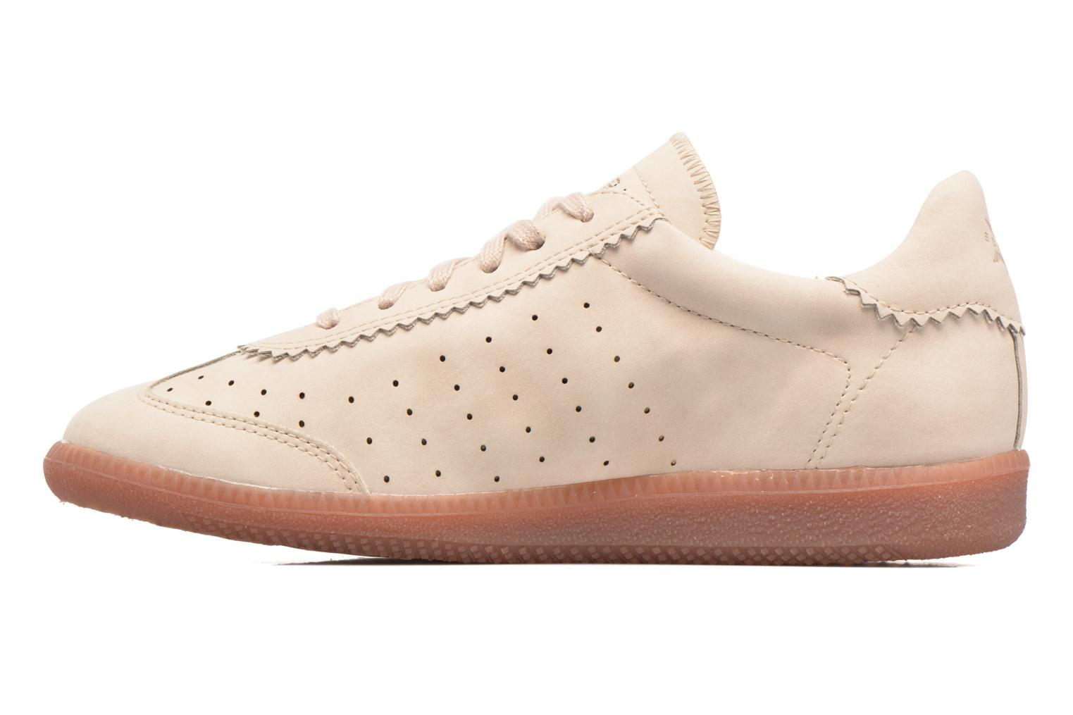 Sneakers Esprit Trainee Lace Up Beige se forfra