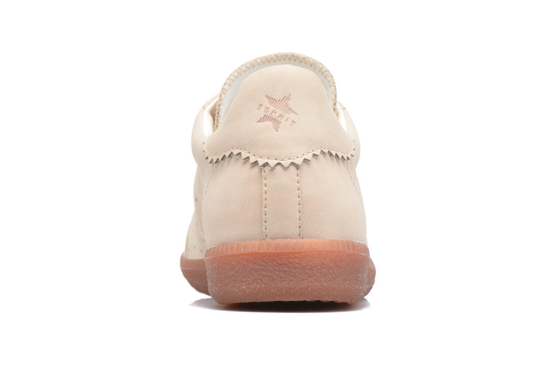 Sneakers Esprit Trainee Lace Up Beige Se fra højre