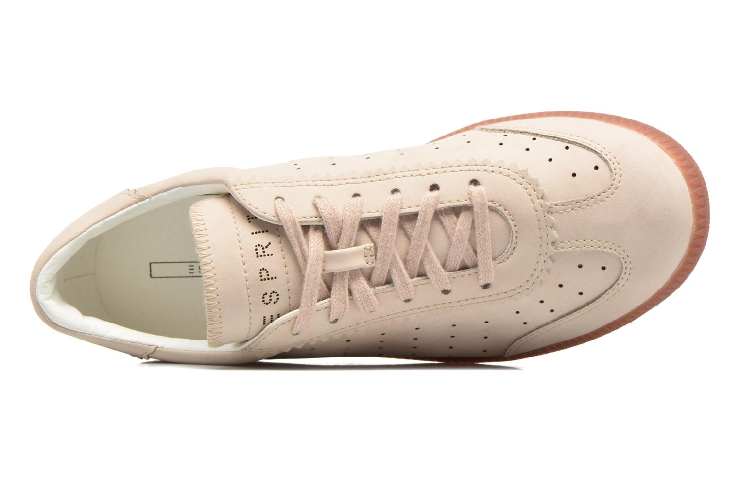Sneakers Esprit Trainee Lace Up Beige se fra venstre