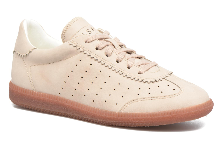Sneakers Esprit Trainee Lace Up Beige detaljeret billede af skoene