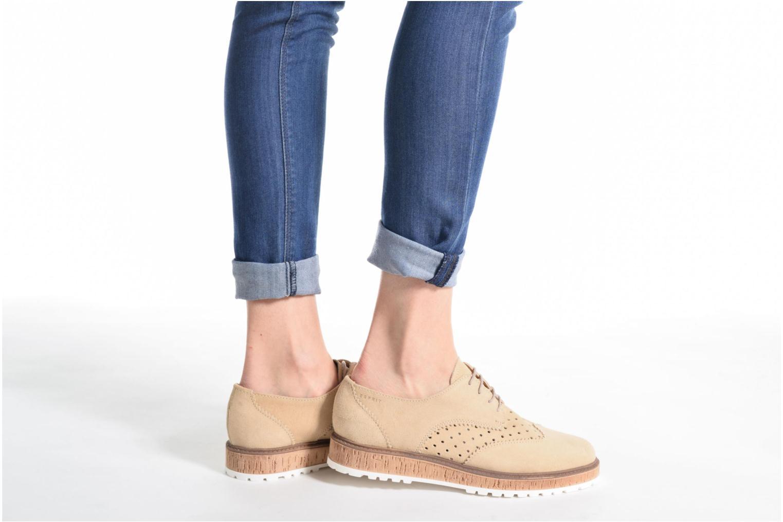 Zapatos con cordones Esprit Crissy Lace Up Beige vista de abajo