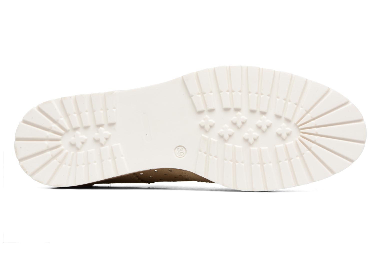 Zapatos con cordones Esprit Crissy Lace Up Beige vista de arriba
