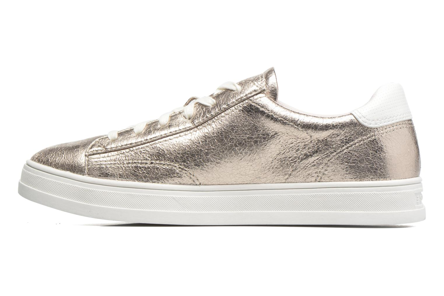 Trainers Esprit Sidney Lace Up Beige front view