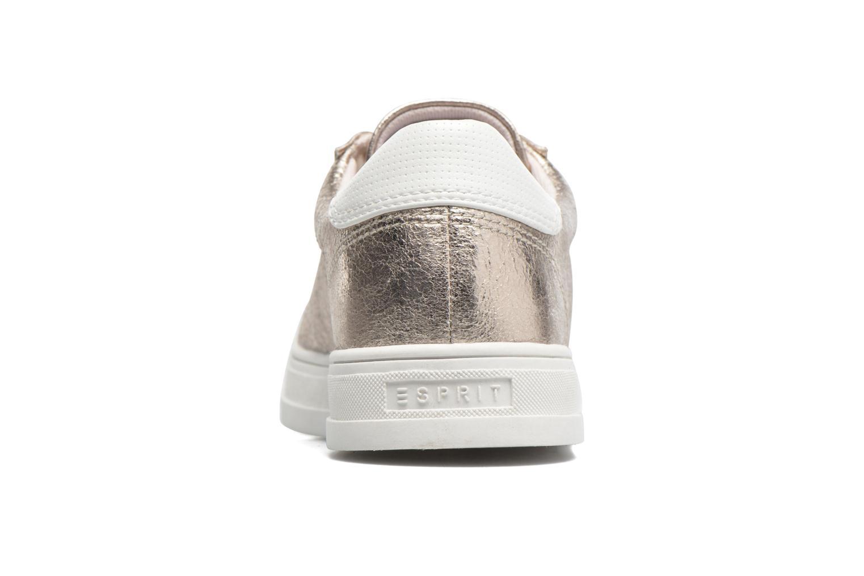 Sneakers Esprit Sidney Lace Up Beige rechts