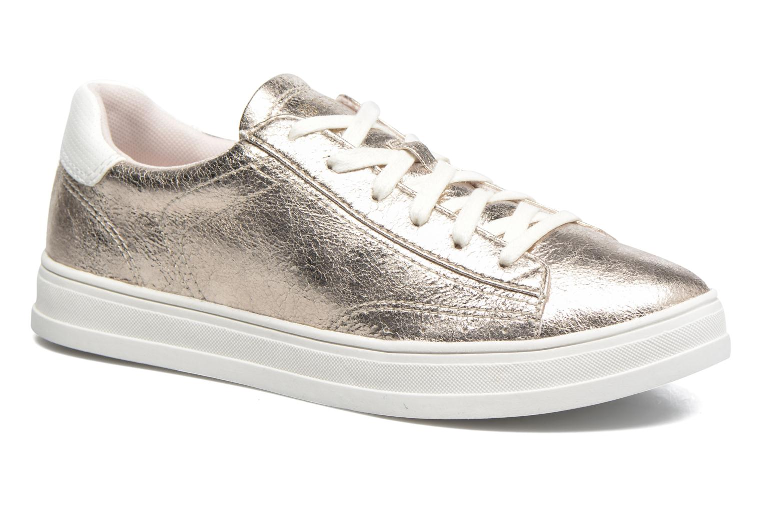Trainers Esprit Sidney Lace Up Beige detailed view/ Pair view