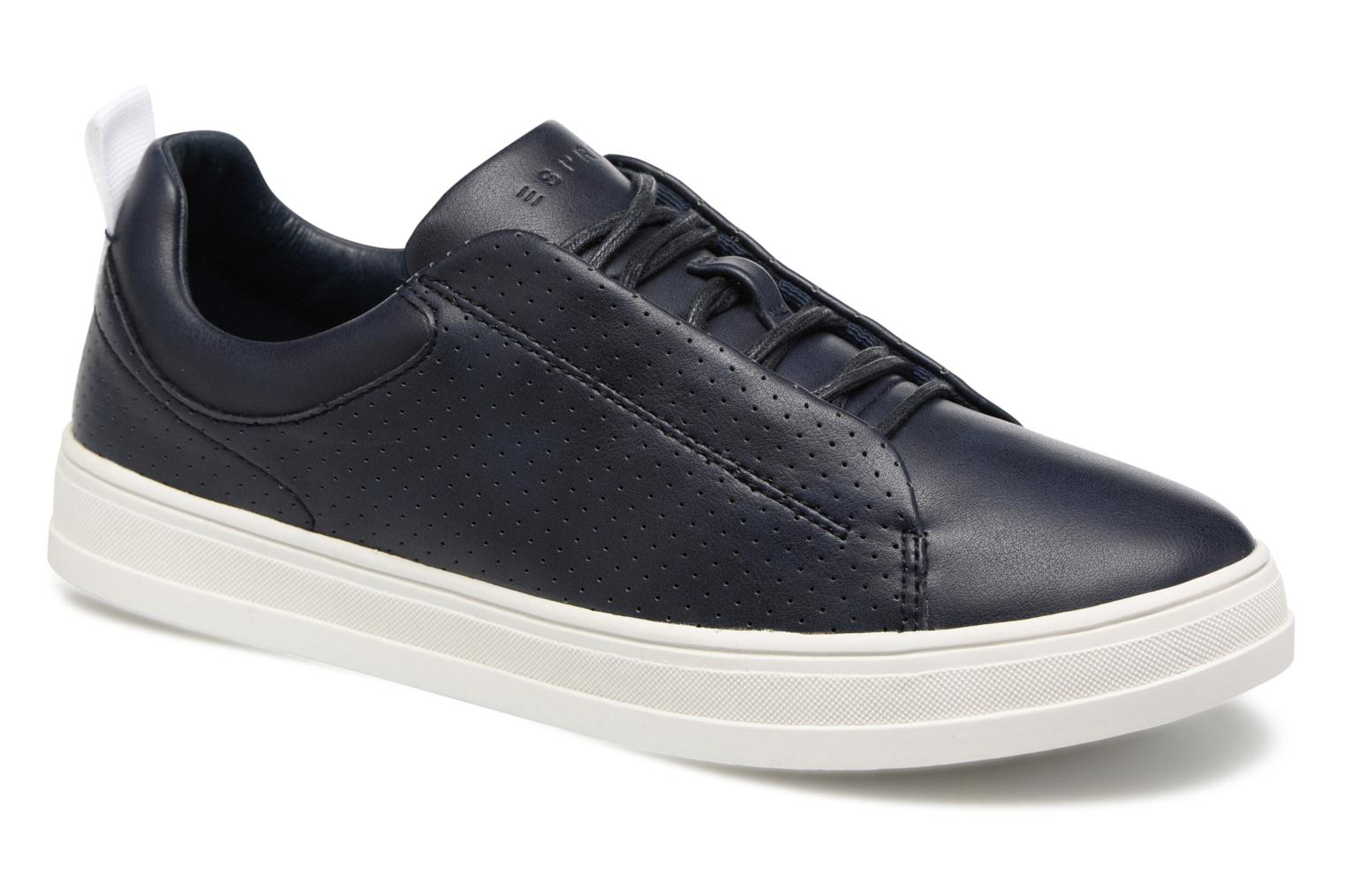 Sidney Perf lace up Navy 400