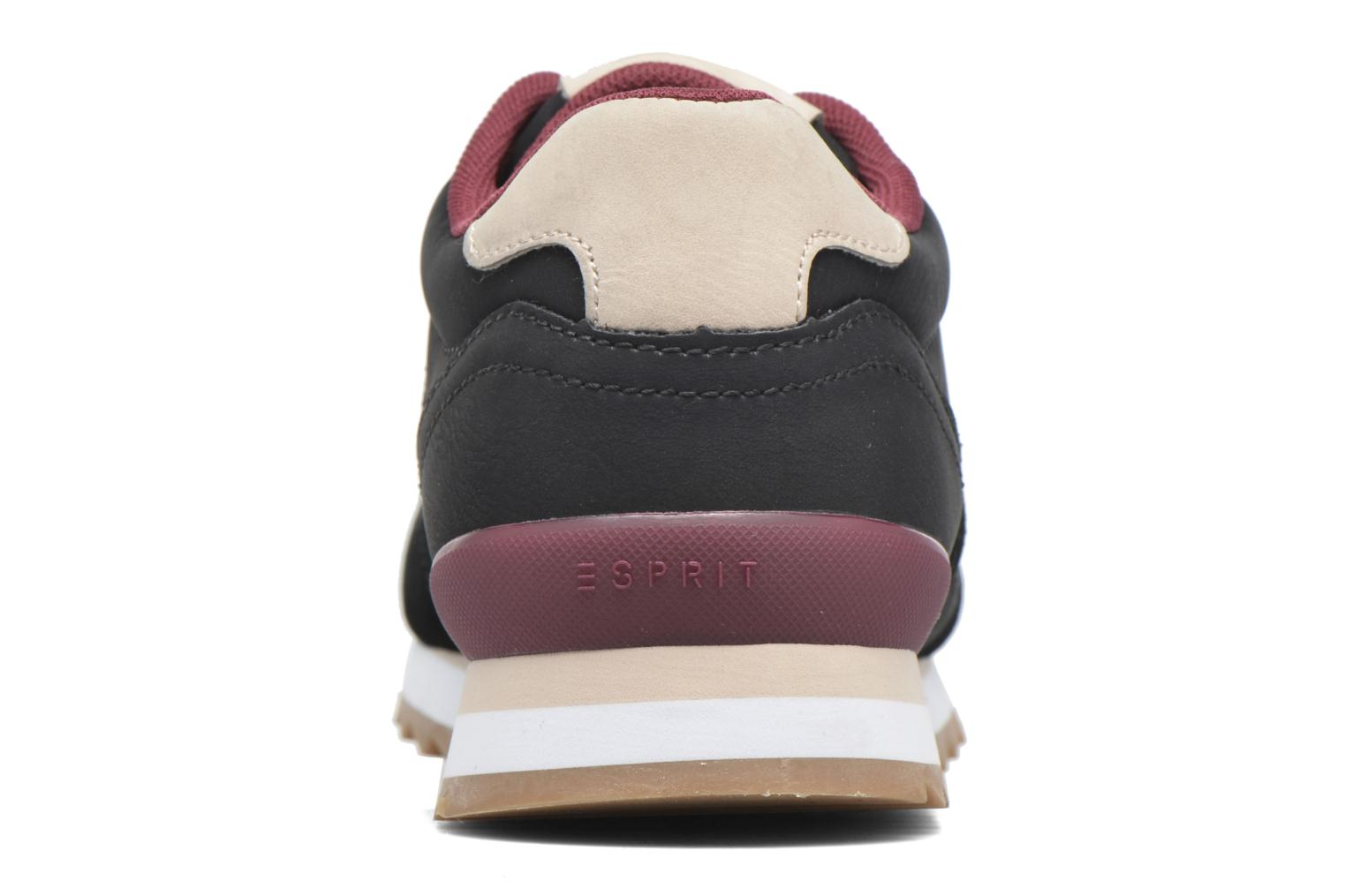 Trainers Esprit Astro Lace Up Black view from the right