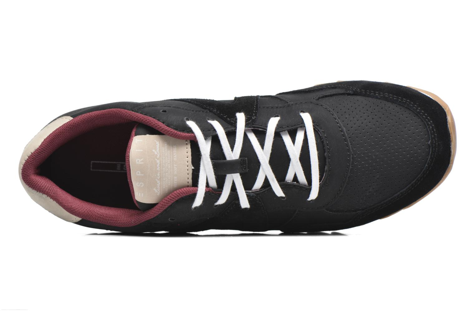 Trainers Esprit Astro Lace Up Black view from the left