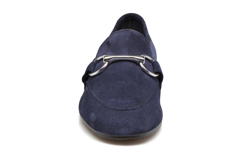 Mocassini Esprit Mia Loafer Azzurro modello indossato