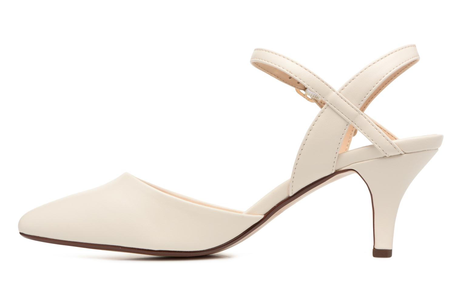 High heels Esprit Pyra Sandal White front view