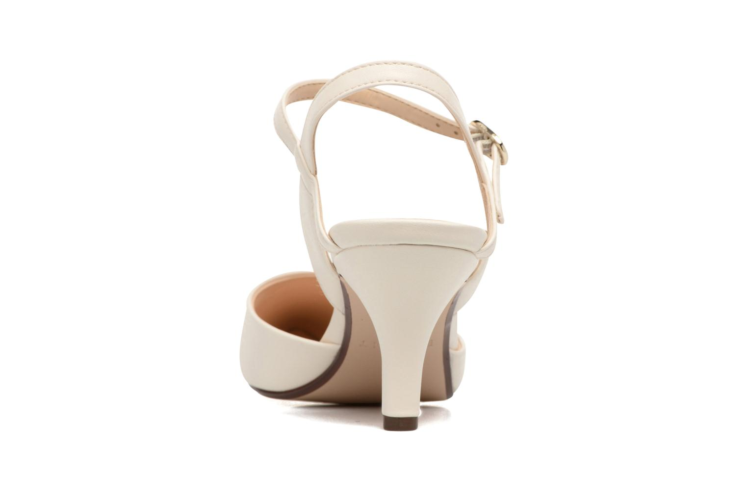 High heels Esprit Pyra Sandal White view from the right