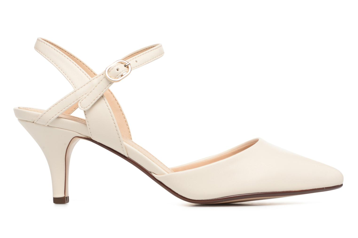 High heels Esprit Pyra Sandal White back view