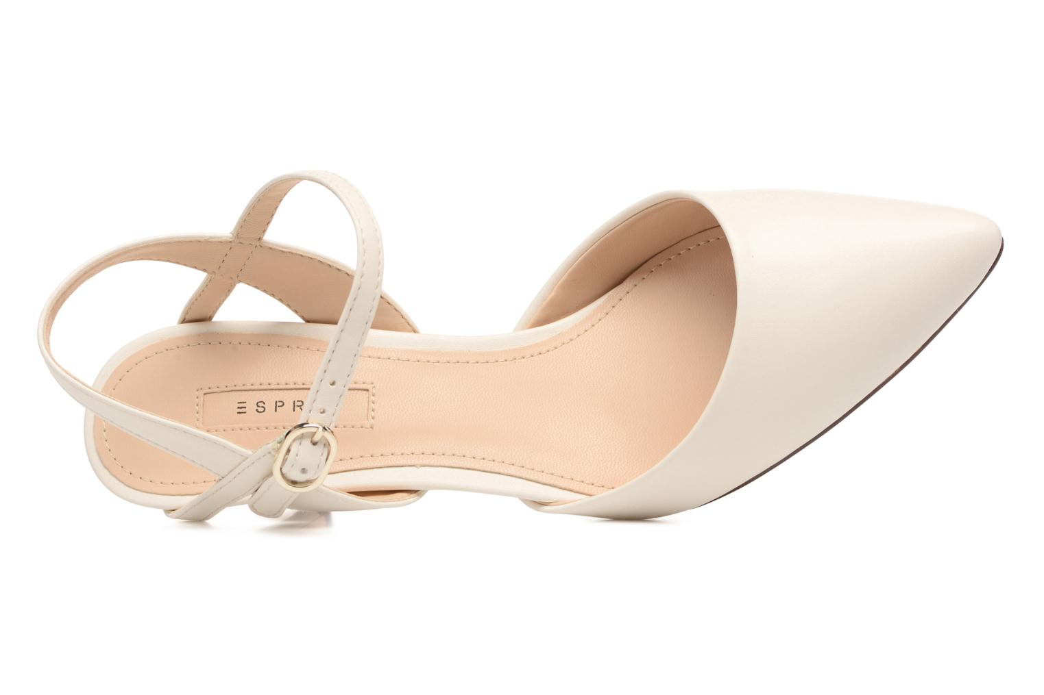 High heels Esprit Pyra Sandal White view from the left